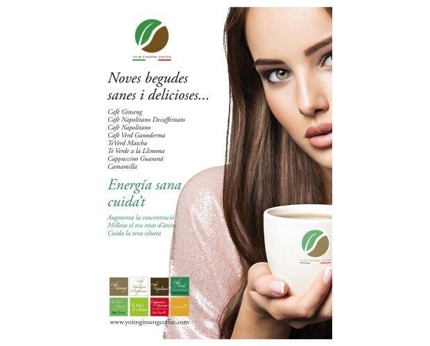 Variedad de cafés y tés. Energía sana