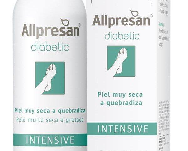 Allpresan. Indicado para el tratamiento diario de la piel muy seca y agrietada de los pies diabéticos
