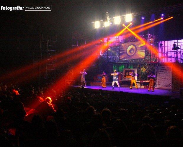 La Roda Produccions. Cubrimiento y soporte audiovisual Aladdin, The Pop Musical Teatre Condal de Barcelona