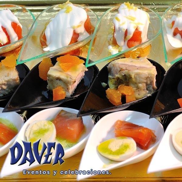 Salados. Aperitivos salados para eventos y celebraciones.