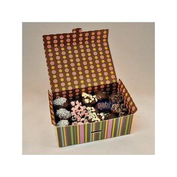 Chocolates. Cajitas de bombones surtidos