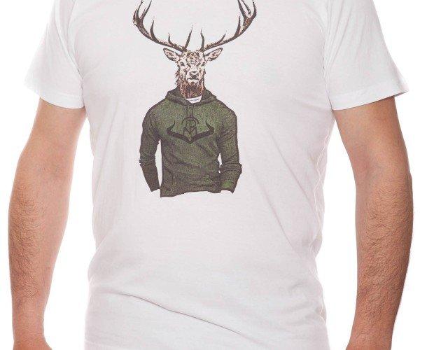 Camiseta Caballero Ciervo. Detalles interiores