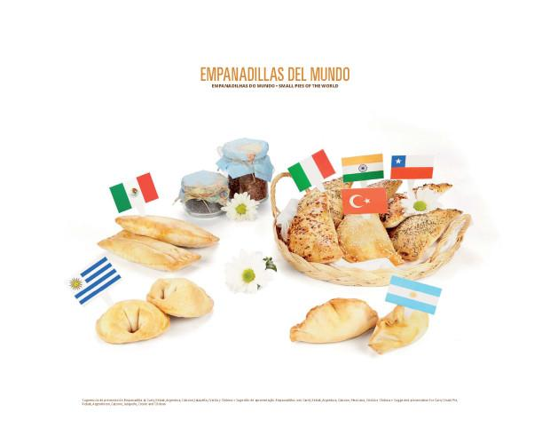 Empanadillas del mundo. Curry, kebab, criollas, etc.