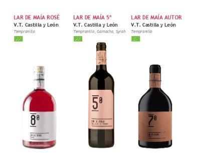 Bodega Lar de Maía. Vino de Castilla y León proveniente de agricultura ecológica