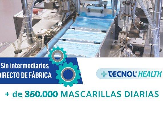 Fabricación nacional de mascarilla. Nos encontramos en Reus (Tarragona) y abastecemos a toda España.