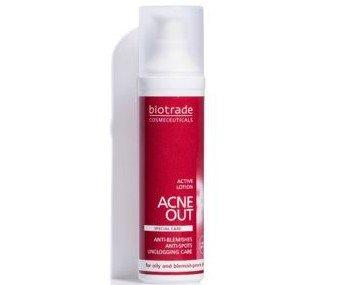 Loción Activa. Adecuada para usar en pieles grasas con frecuentes apariciones de granos y poros obstruidos