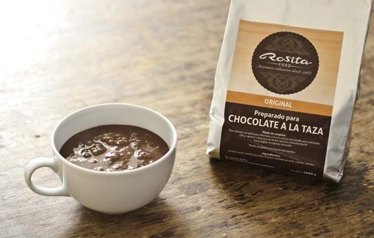 Chocolate a la taza. Sin gluten