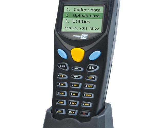PCMIRA CIPHERLAB8001. Recolector de datos CIPHERLAB 8001 con cuna