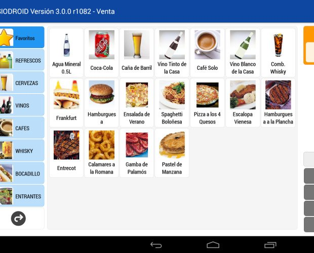 PCMIRA SIODROID. Software para TPV android y comanderos SIODROID