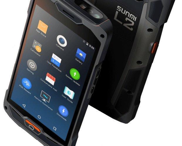 PCMIRA SUNMI L2. PDA IP67 SUNMI L2, opción scanner