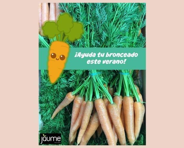 Zanahorias.Saludables y ricas