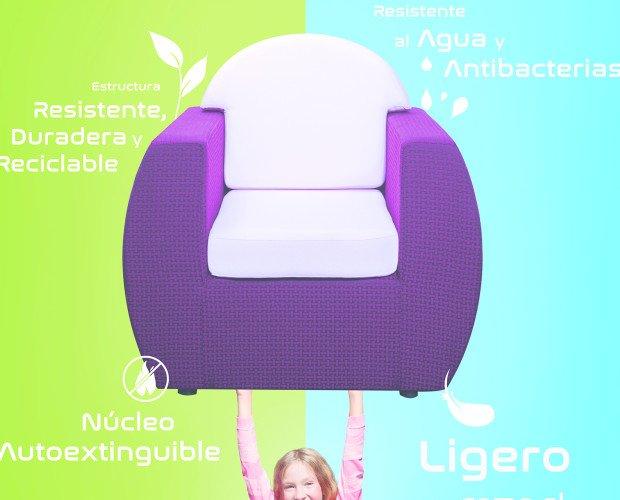 Los niños lo mueven. Diseñados para mojarse y moverse fácilmente