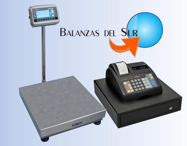 Básculas y Balanzas.Amplia gama de Basculas y Cajas Registradoras.