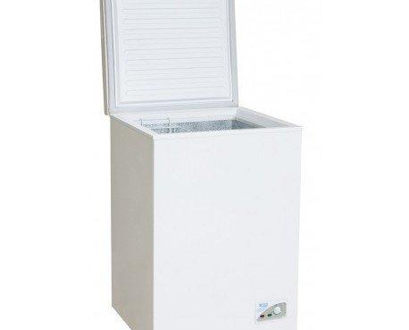 ARCÓN CONGELADOR 1 PUERTA PEQUEÑO. Ccapacidad: 100 litros, sistema de refrigeracion directa,temperatura regulable, bandeja de agua: autoevaporacion,