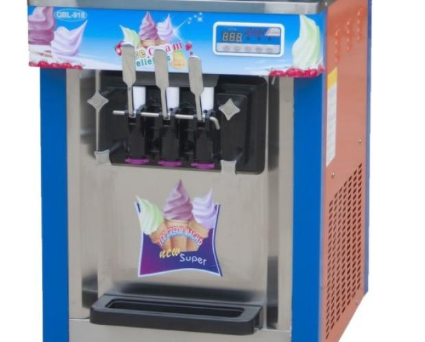 Máquina de helados soft. Máquina de helados profesional