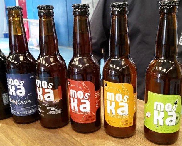 Moska de Girona. Variedad de cervezas
