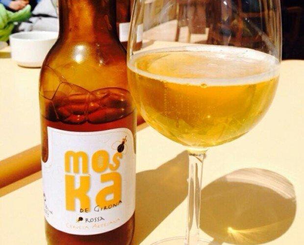 Moska de Girona Rossa. Cerveza lager de baja fermentación