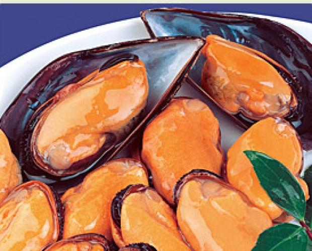 mejillones. mejillones, conservas de marisco