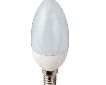 Bombilla LED vela. Muy decorativa