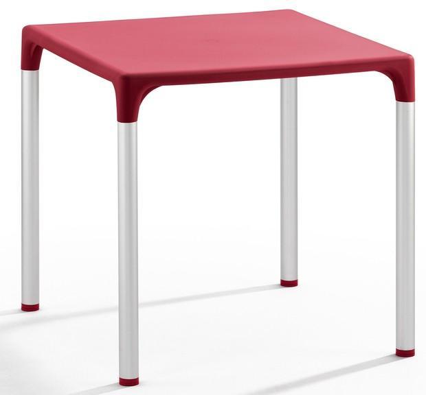 Mesas.Polipropileno inyectado y fibra de vidrio