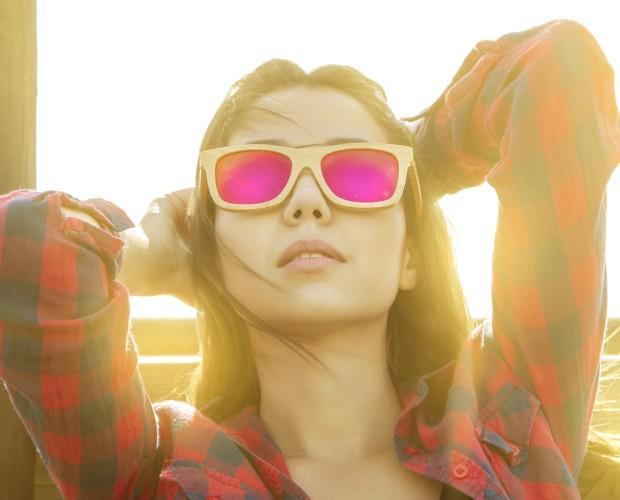 d4fc9efcd5 Hecha con tablas de skate recicladas Savanna Sunset. Hechas con bambú  carbonizado y lentes polarizadas ...