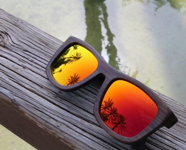 Volcanic Lagoon. Gafa de Bambú y lentes polarizadas