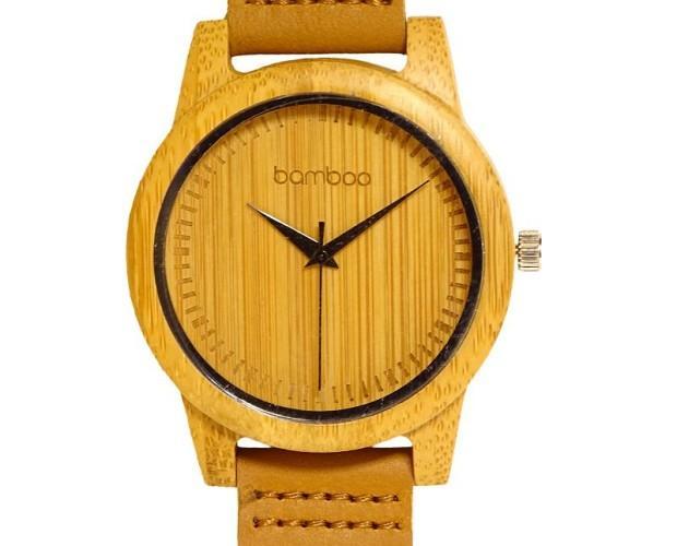5173346215 Piezas únicas hechas con bambú ecológico Serenity watch. Natural  hipoalergénico Gorra bamboo.
