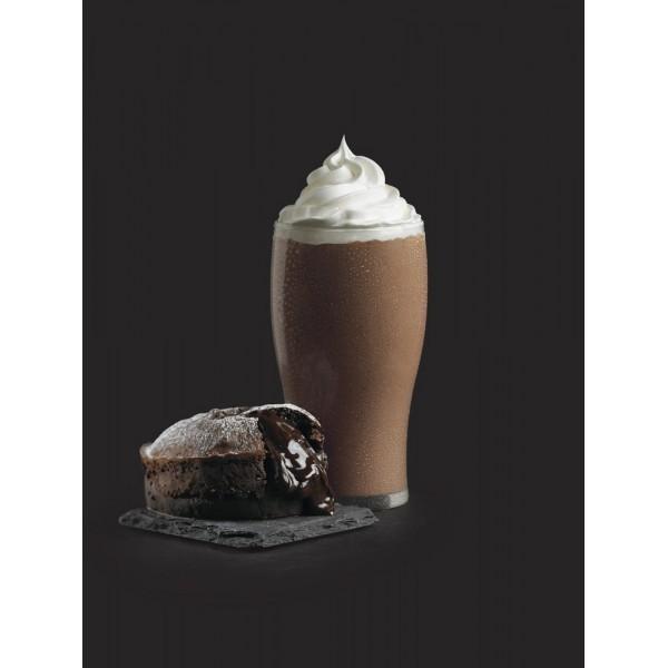 Chocolate indulgence. Exquisito frappé Chocolate Indulgence