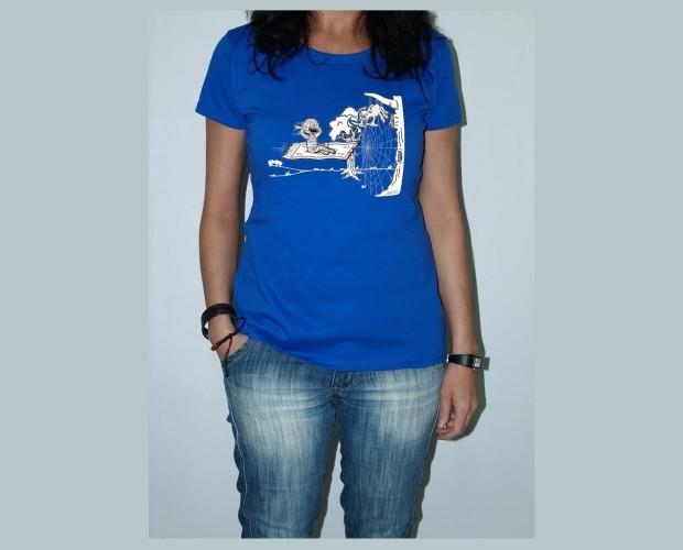 Momy araña. Camiseta de mujer
