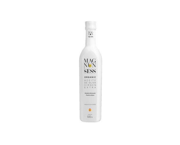 Magnun Sess Organic. Aceite de oliva virgen extra ecológico, de alta calidad.