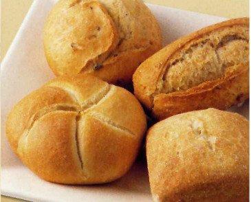 Pan congelado. Varios tipos de pan