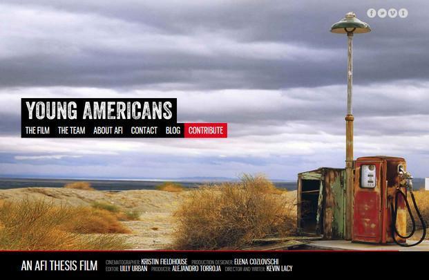 Página web. Página oficial de la película