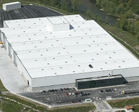 Fábrica Loredo. 40.000 m2 es una de las cuatro fabricas de Triman