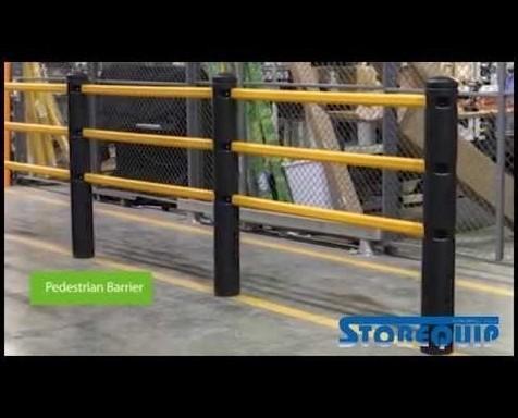 Equipamiento de Carga y Almacenamiento.Barreras protectoras flexibles