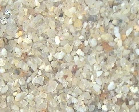 Minerales No Metálicos.Vista en microscopica