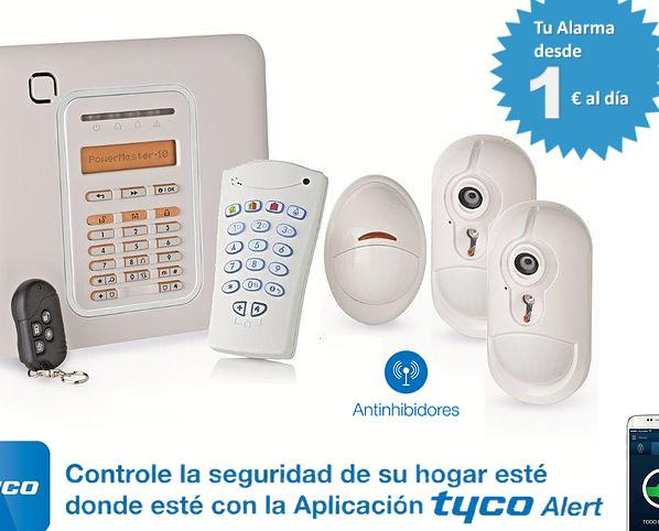 Alarmas.Equipo de Tyco