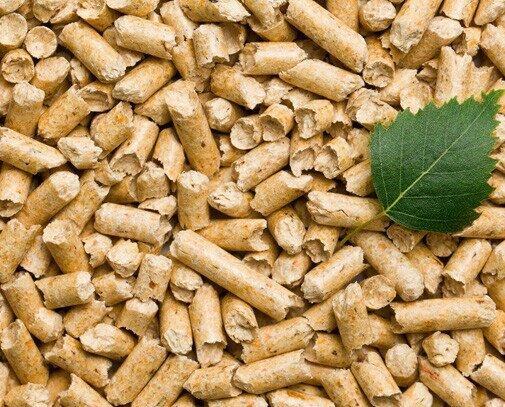 Pellets.Los pellets son un combustible sólido y barato fabricado.