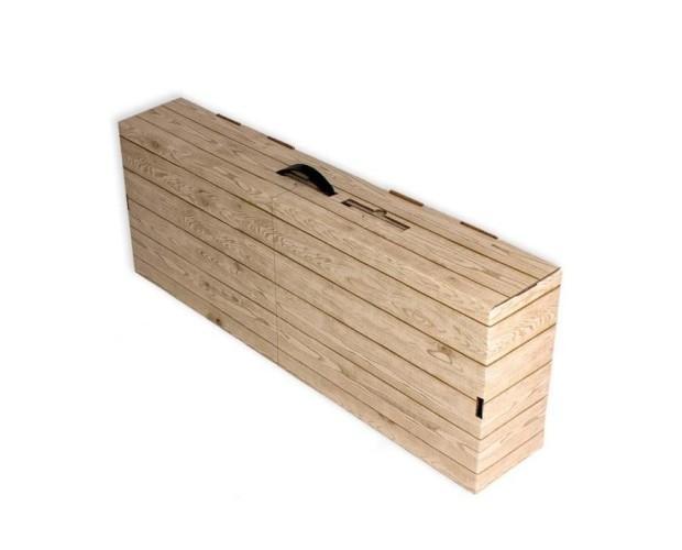 Caja cartón jamonera