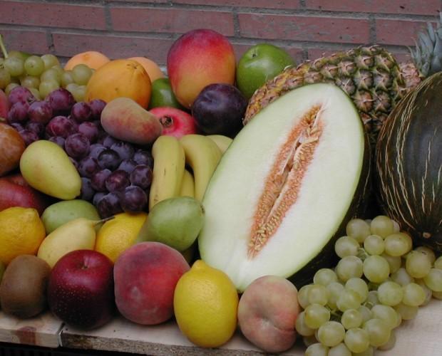 Frutas frescas. Frutas todo el año