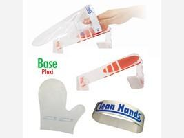 Clean Hands Base with glove