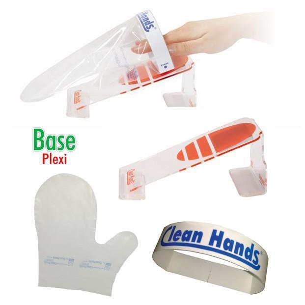 Materiales de Protección.Permite ponerse y quitarse el guante de modo práctico y rápido