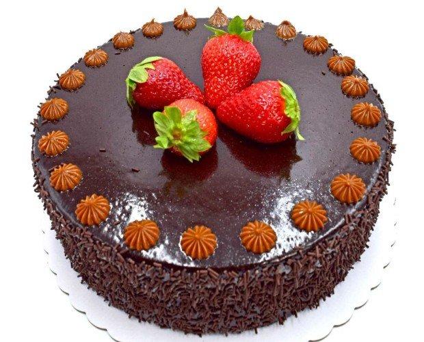 Tarta de chocolate. Elaboramos productos frescos y de alta calidad.