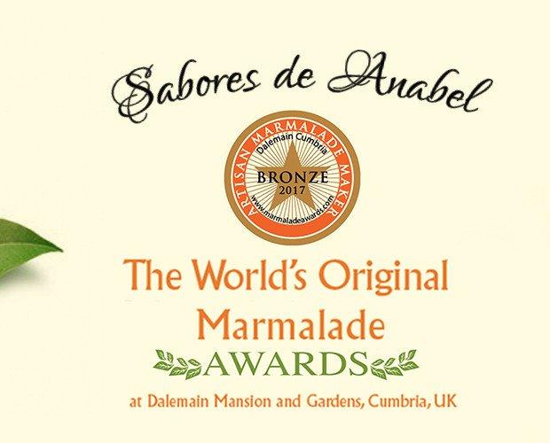 Mermelada Premio. Premios internacionales a nuestra mermelada de naranja, origen de Valencia, primera calidad, sin conservantes