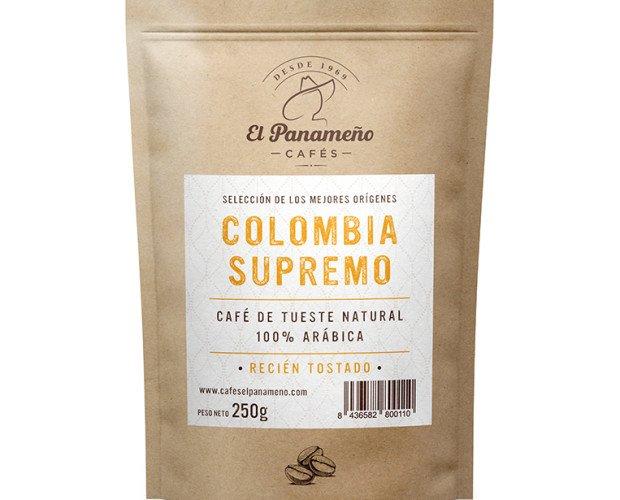 COLOMBIA-SUPREMO. Café Natural Colombia 100% Arábica