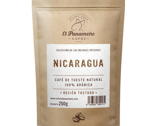 NICARAGUA-RENDER. Café Natural Nicaragua 100% Arábica