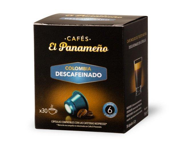 CAFE-DESCAFEINADO-CAPSULAS. Café descafeinado en Cápsulas Colombia