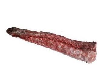 Cinta de lomo. Carne muy magra y gustosa que admite todas las formas de preparación