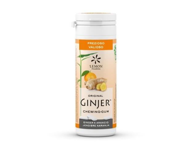 Chicles Ginjer naranja. Chicle sabor jengibre y naranja