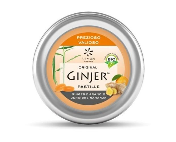 Pastillas ecológicas Ginjer. Sabor Naranja