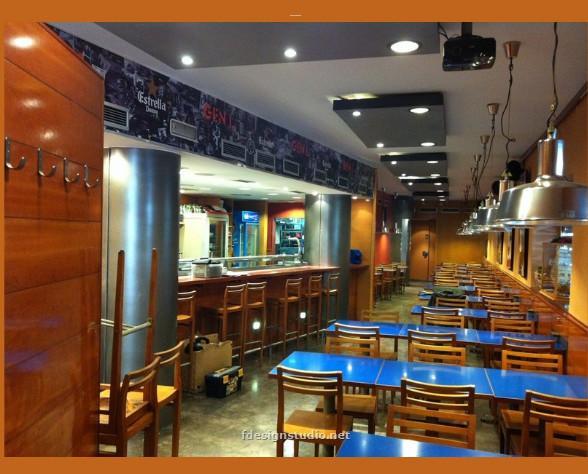 Servicios de decoración . Diseño de interiores para bares